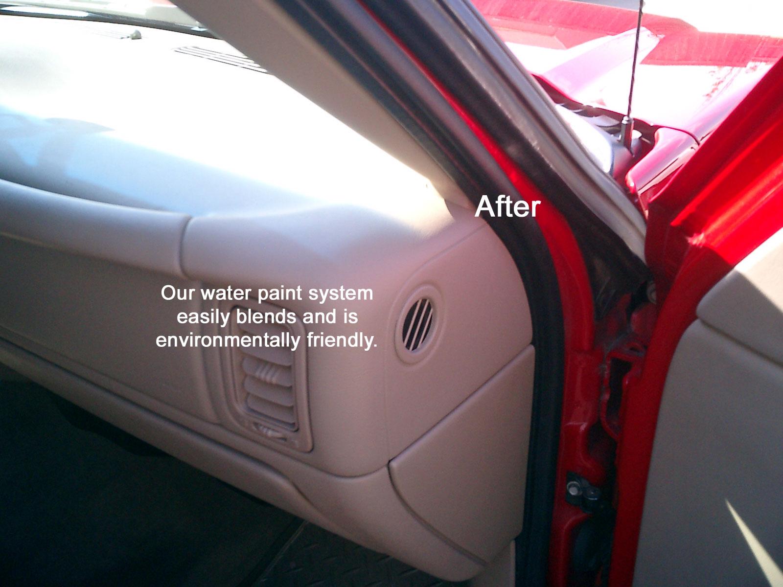 Best Paint For Car Interior Plastic How To Paint Dye Interior Vinyl Plastic Parts Mustang Tech