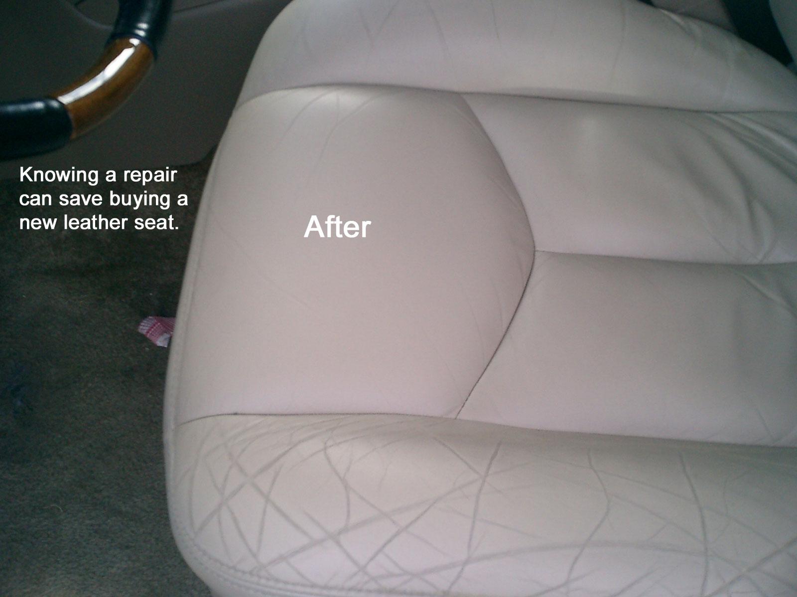 ... Leather Seat Burn Vanishes